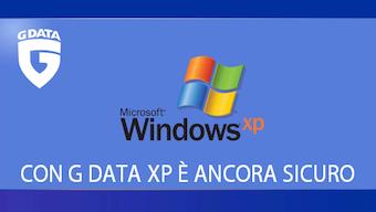 G DATA supporta Windows XP