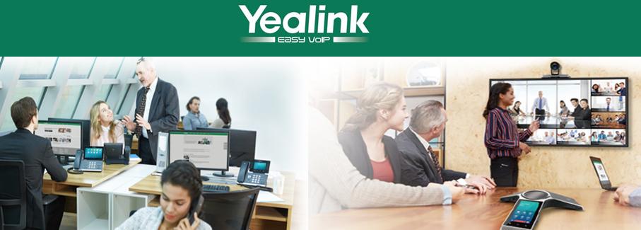YEALINK, Telefoni IP, DECT, soluzioni per conferenze, accessori